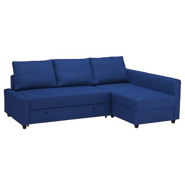Sofa Cama Con Almacenaje Bqdd sofà Cama Esquina Con Almacenaje Friheten Skiftebo Azul