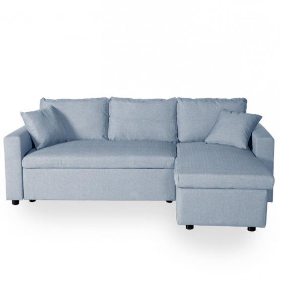 Sofa Cama Con Almacenaje Nkde sofà Cama Esquina Con Almacenaje Interior Street Azul