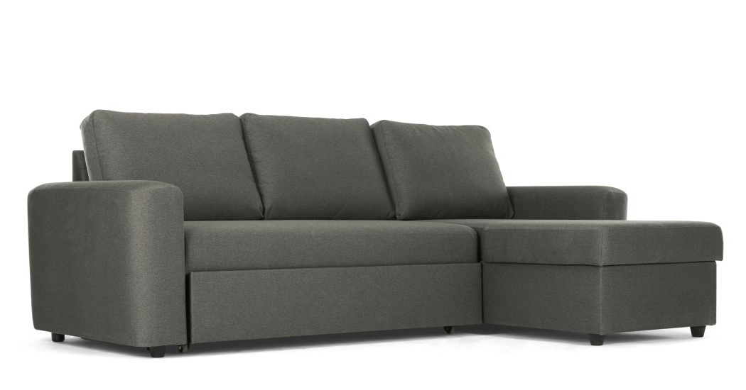 Sofa Cama Con Almacenaje Q5df sofà Cama Esquinero Con Almacenaje Aidian Gris Paloma