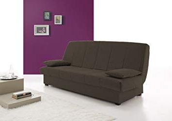 Sofa Cama Con Arcon S5d8 Hogar24 sofa Cama Clic Clac Con Arcà N De Almacenaje Chocolate