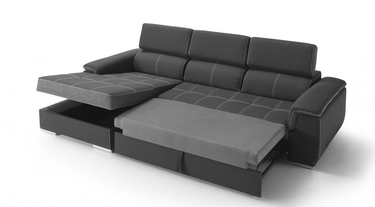 Sofa Cama Con Arcon U3dh Chaise Longue Kibo Fas Cama Extensible Nido