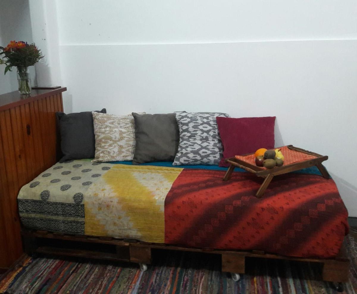Sofa Cama Con Palets Dwdk sofa Cama De Palets 2 000 00 En Mercado Libre