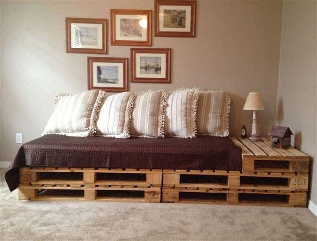 Sofa Cama Con Palets Tldn 7 Ideas De sofà S Con Palets Para El Salà N sofà S Sillones Sillas
