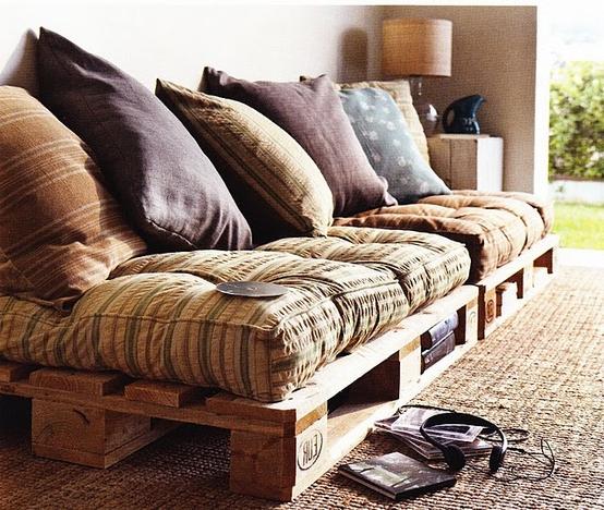 Sofa Cama Con Palets U3dh Muebles Y Objetos Hechos Con Palets De Madera
