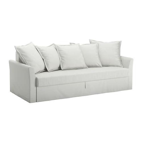 Sofa Cama De Ikea S1du Holmsund sofà Cama De 3 Lugares orrsta Branco Acinzentado Claro Ikea