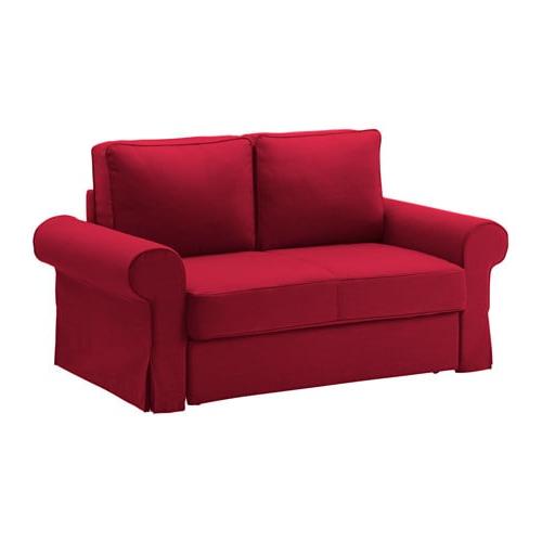 Sofa Cama Dos Plazas Ikea 4pde Backabro sofà Cama 2 Plazas nordvalla Rojo Ikea