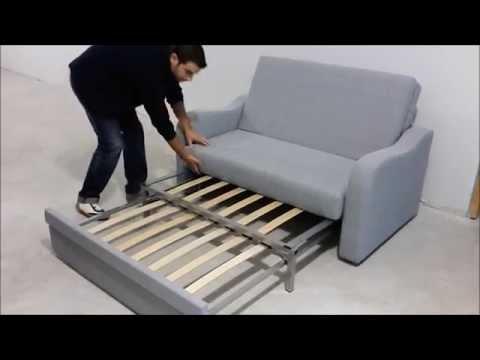 Sofa Cama Dos Plazas Ikea Gdd0 sofà Cama 2 Plazas Ideal Para Pequeà Os Espacios Youtube