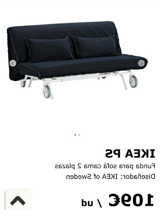 Sofa Cama Dos Plazas Ikea Kvdd Funda sofà Cama Ikea 2 Plazas De Segunda Mano Por 50 En Barcience