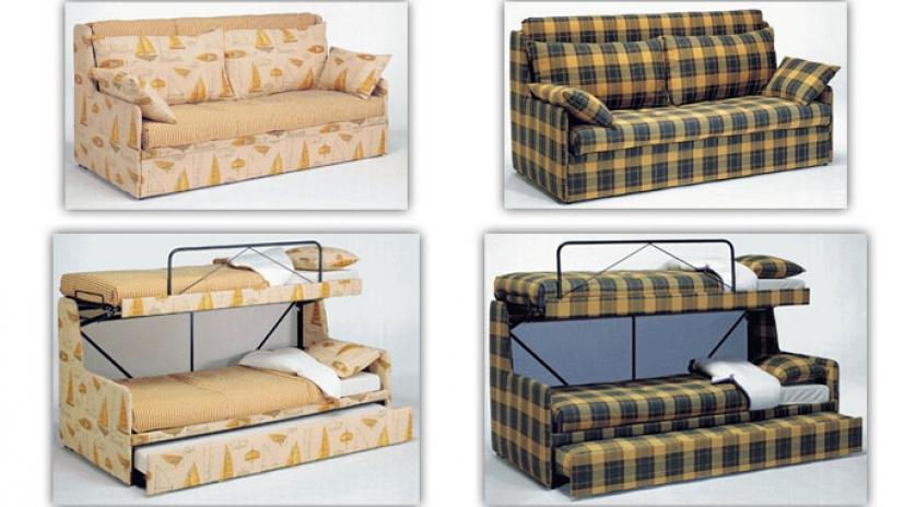 Sofa Cama Litera Drdp sofà Cama Triple sofas Cama Cruces