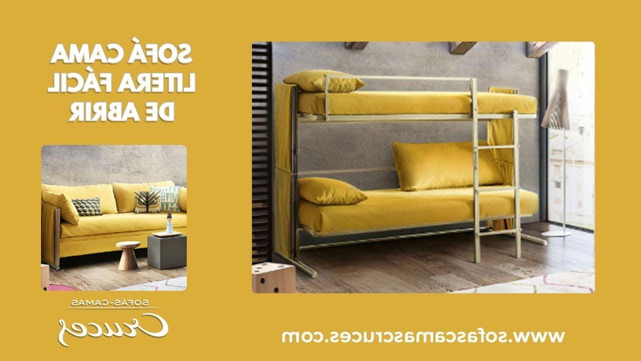 Sofa Cama Litera Q0d4 sofà Cama Litera Fà Cil De Abrir Y Ocupa Muy Poco Espacio Youtube