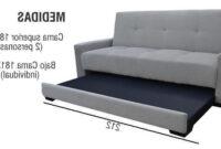 Sofa Cama Medidas Ipdd sofa Cama sofacama Futon Sillon Sala Mobleco Envio Gratis