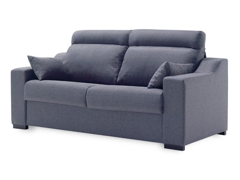 Sofa Cama Merkamueble E9dx sofà Cama Sistema Italiano Tapizado En Tela Color Azul
