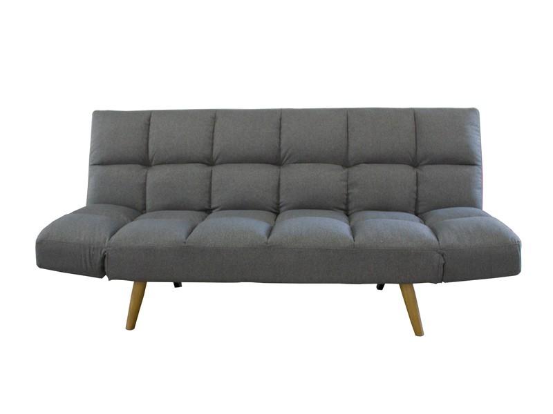 Sofa Cama Merkamueble O2d5 sofà Cama Clic Clac Tapizado En Tela Color Gris
