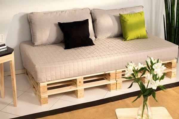 Sofa Cama Palets H9d9 sofà Cama Con Palets Erib R Alvarez