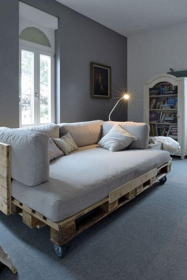 Sofa Cama Palets Mndw Muebles Y Objetos Hechos Con Palets De Madera Pallets Pallet