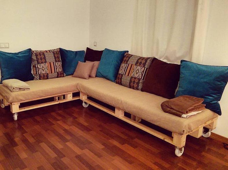 Sofa Cama Palets Q0d4 sofa Cama De Palets Chaise Long Acabat â Carpinteria
