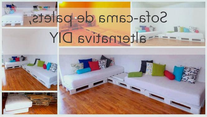 Sofa Cama Palets X8d1 Hacer Un sofa Cama Con Palets Barato Y Sencillo