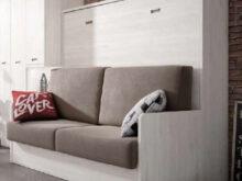 Sofa Cama Plegable Budm Cama Abatible Con sofa Modelo Madrid Horizontal Para Colchones 90cm