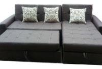 Sofa Camas Modernos 8ydm Sala Moderna sofa Cama Con Baul Puff Baul Y 3 Cojines