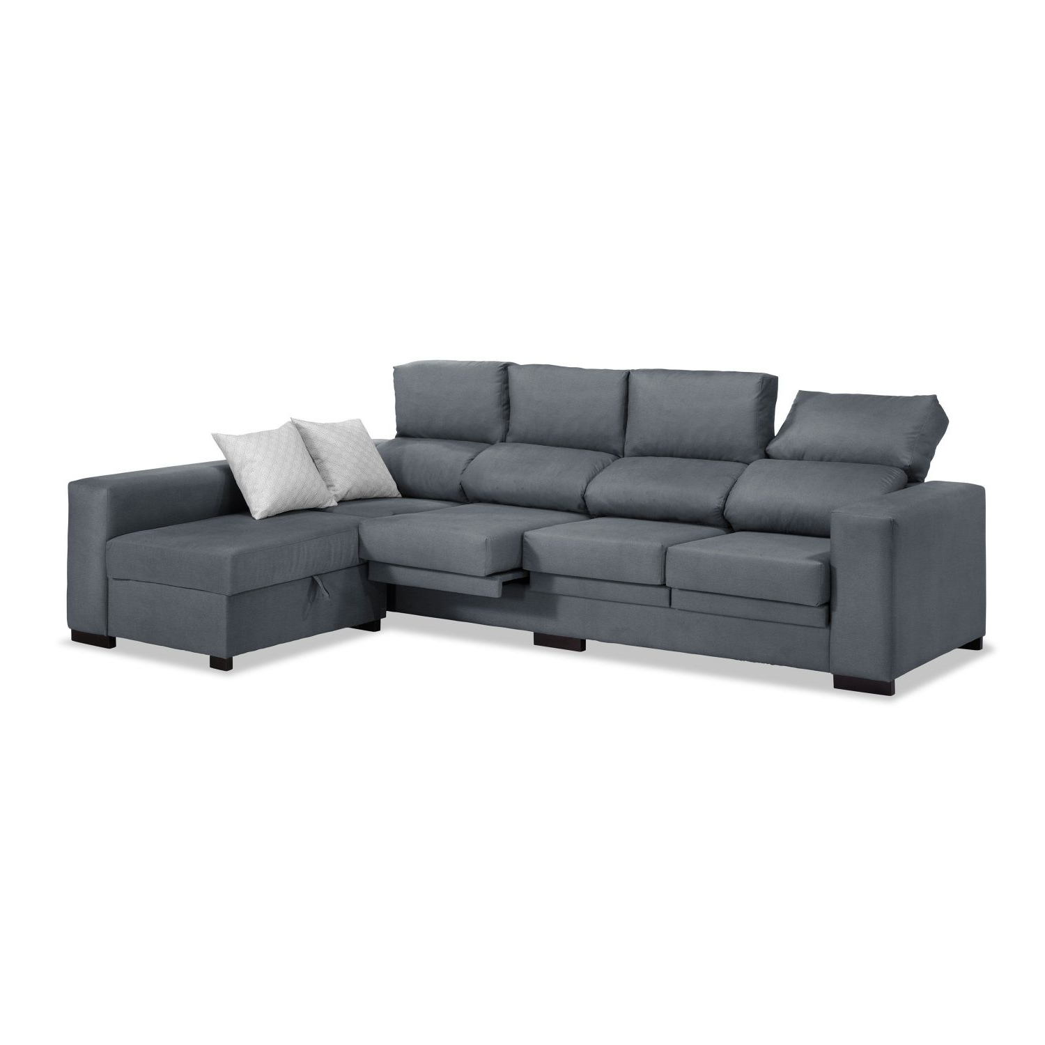 Sofa Chaise Longue 4 Plazas Tqd3 sofà Chaise Longue 4 Plazas Marengo 270 Cm