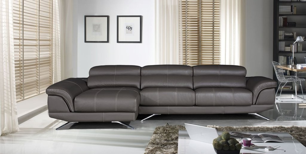 Sofa Chaise Longue Piel Ftd8 Meglio sofa Chaise Longue Piel Chaiselongue Modelo Riviera En Color