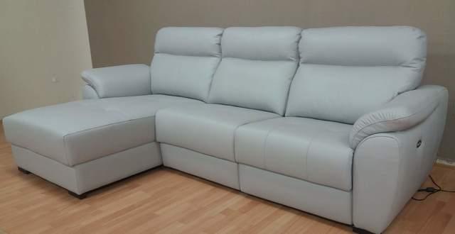 Sofa Chaise Longue Piel Ftd8 Mil Anuncios sofa Chaise Longue Piel Cien Por Cien