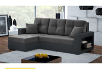 Sofa Chaise Longue Piel Ipdd Justhome Metro sofà Esquinero Chaise Longue Piel sofa Muebles