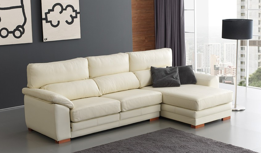 Sofa Chaise Longue Piel Ipdd sofà Con Opcià N Chaiselongue Y En 3 2 Y 1 Plaza Disponible En Piel