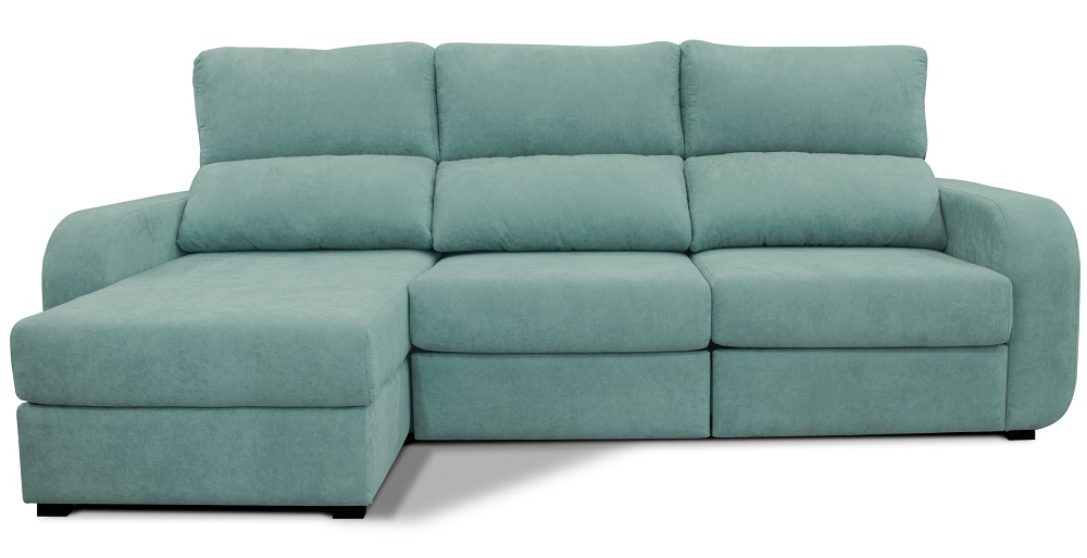 Sofa Chaiselongue 3id6 Chaise Longue Convertible En Cama Derecha Tela April Conforama
