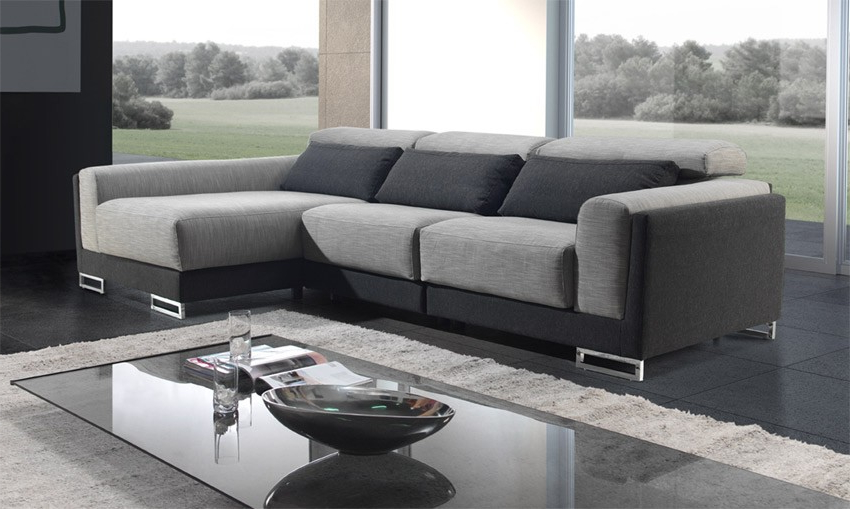 Sofa Chaiselongue 9fdy sofà Chaise Longue Con Reposacabezas Reclinables