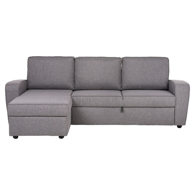 Sofa Chaiselongue Drdp sofà Chaiselongue Tapizado Y Reversible Con Cama Y Arcà N Hide