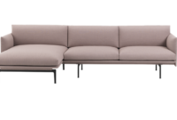 Sofa Chaiselongue Dwdk Muuto Outline sofa Chaise Longue Right Von Goodform