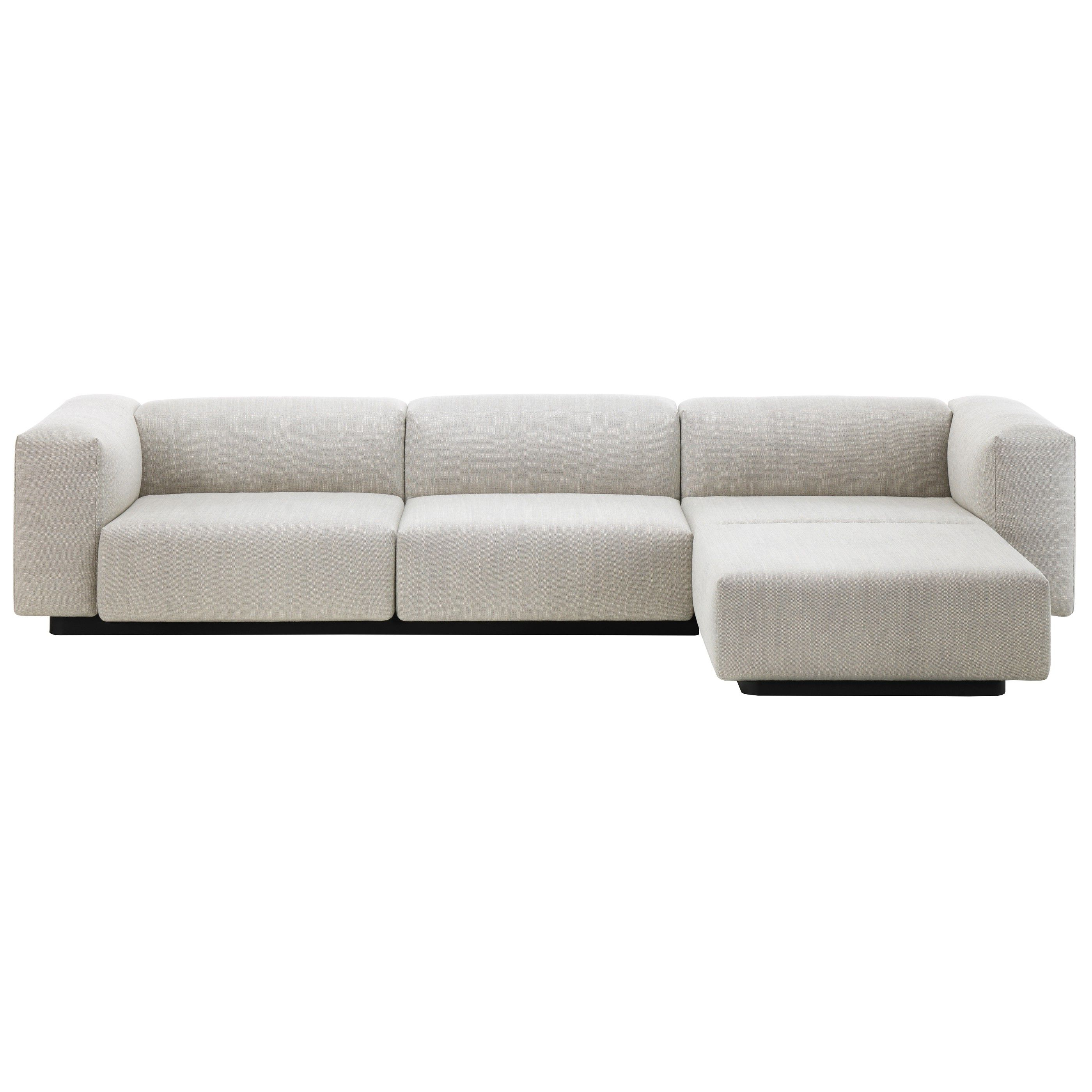 Sofa Chaiselongue E9dx Vitra soft Modular sofa Mit Chaise Longue Flinders Versendet Gratis
