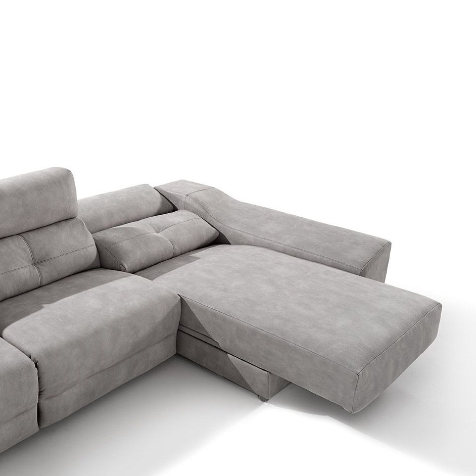 Sofa Chaiselongue Etdg sofà Chaiselongue Fijo Memory De Idea Home
