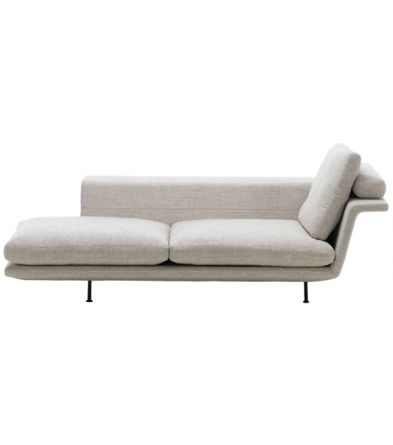 Sofa Chaiselongue O2d5 Grand sofà Vitra Chaise Longue Milia Shop