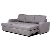 Sofa Cheslong Cama Zwd9 sofà Chaiselongue Tapizado Y Reversible Con Cama Y Arcà N Hide