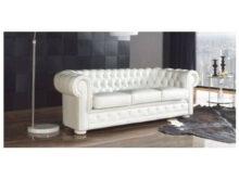 Sofa Chester Piel 87dx sofà Chesterfield