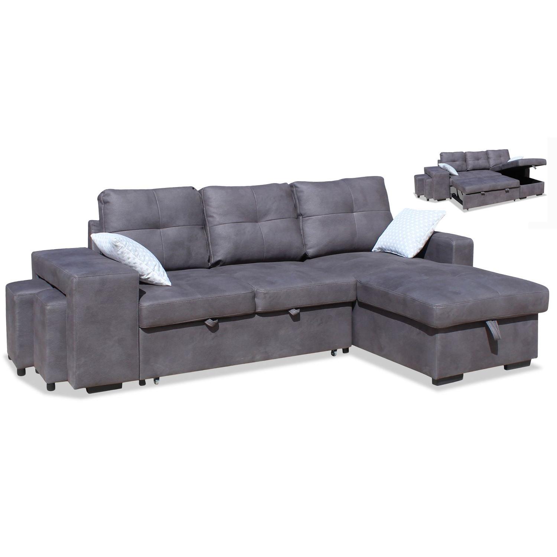 Sofa Con Arcon Budm sofà Cheslong Cama Mallorca 245 Cm Con Arcà N Y Taburetes