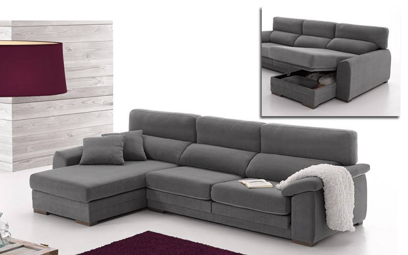 Sofa Con Arcon Drdp Confortable sofà Chaise Longue Con Arcà N