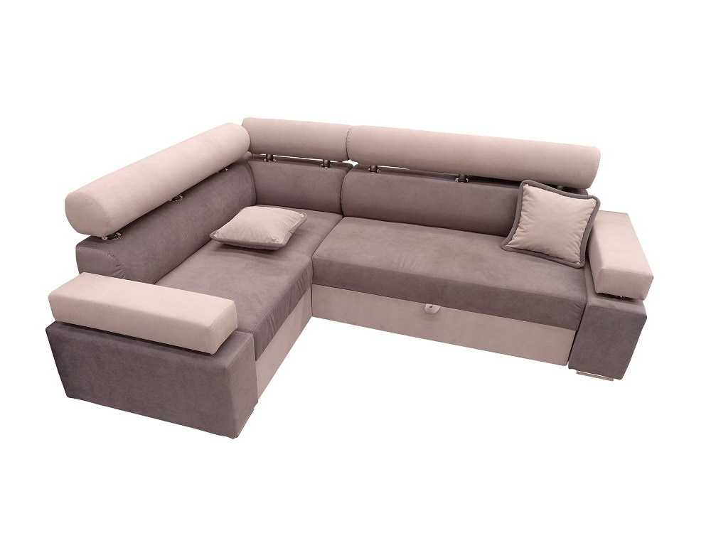 Sofa Con Arcon Drdp Modern Corner sofa with Pull Out Bed and Storage Genoa Don Baraton