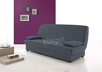 Sofa Con Arcon Etdg Hogar24 sofa Cama Clic Clac Con Arcà N De Almacenaje Azul