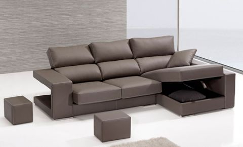 Sofa Con Arcon Wddj sofà De Chaise Longue Con Arcà N Y Puffs En Brazo De 3 Plazas AquÃ