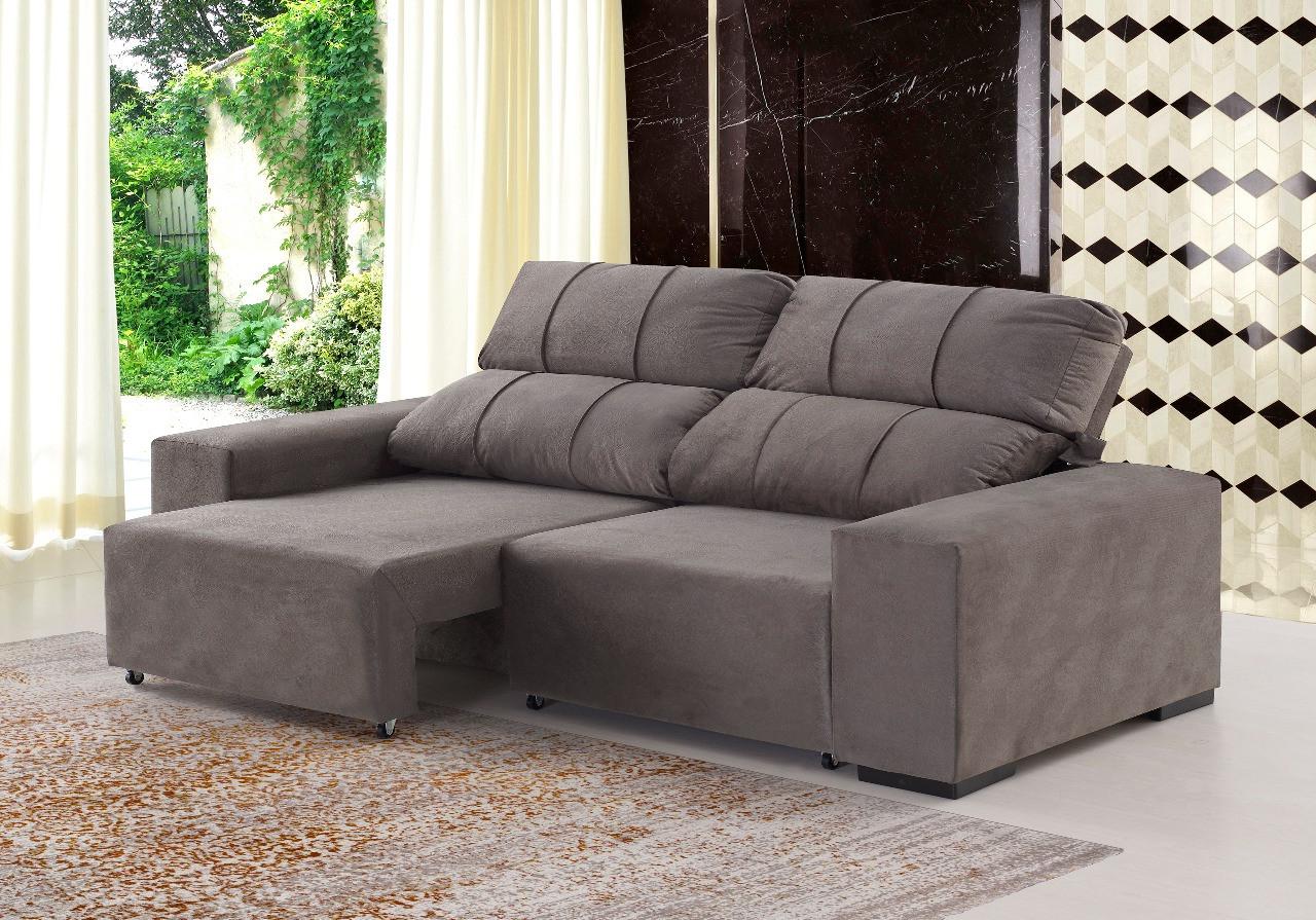 Sofa Confort Fmdf sofà 3 Lugares Confort Viero Lojas Presidente