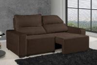 Sofa Confort Kvdd sofà Retrà Til Reclinà Vel 3 Lugares Suede Elegance American Confort