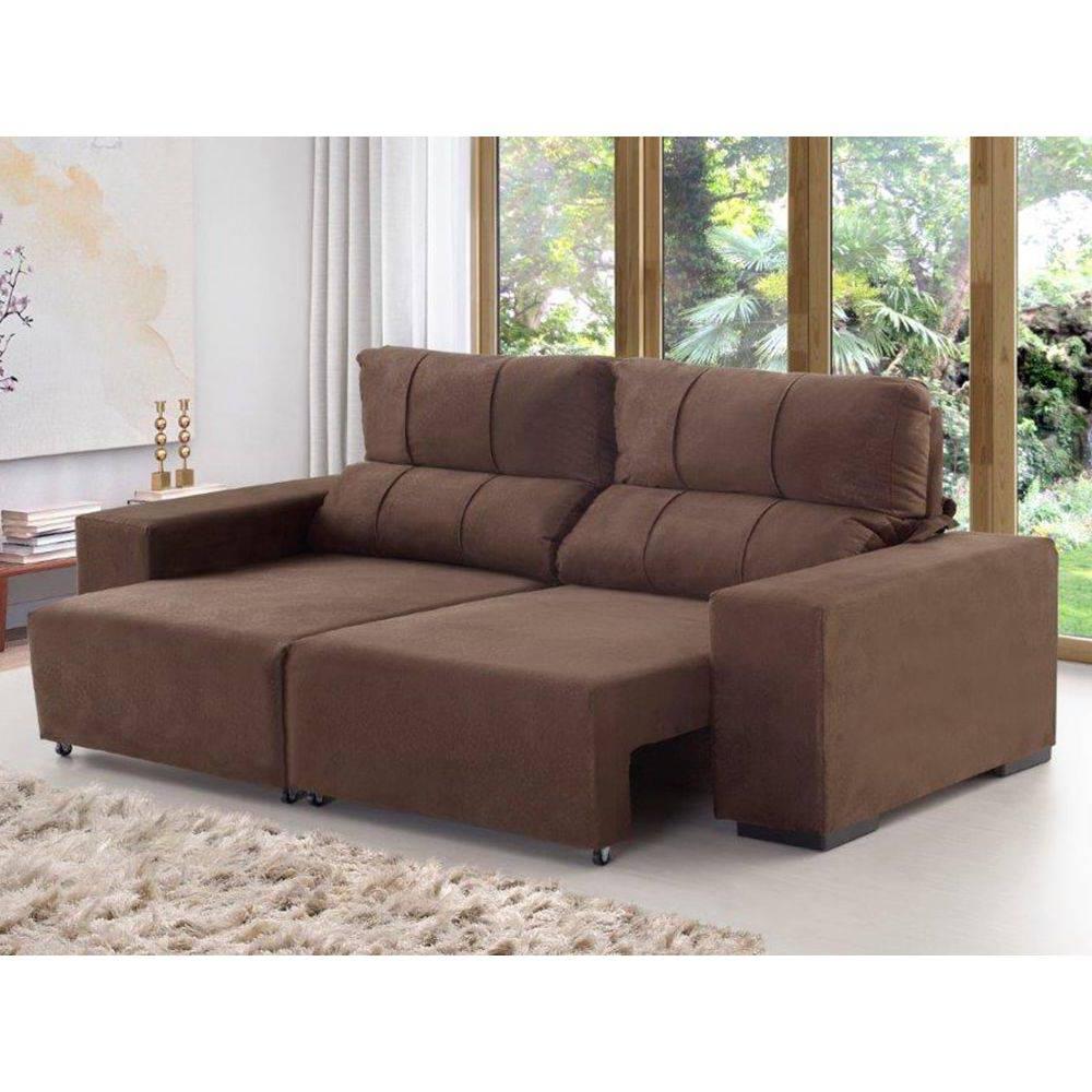 Sofa Confort Tqd3 sofà Viero Confort 3 Lugares Retrà Til E Reclinà Vel Tec 628 3201