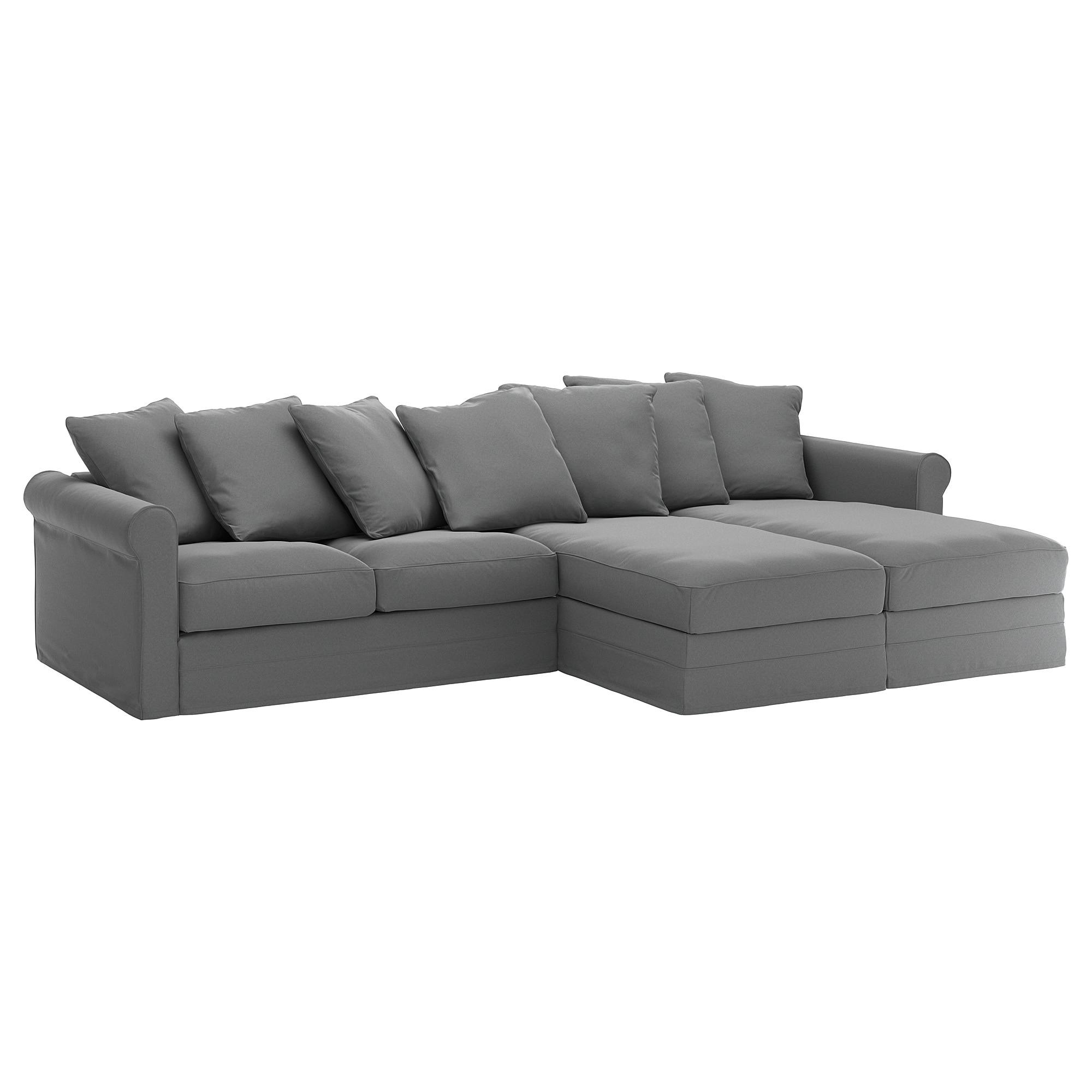 Sofa Cuatro Plazas E6d5 Grà Nlid sofà 4 Plazas Con Chaiselongues Ljungen Gris Ikea