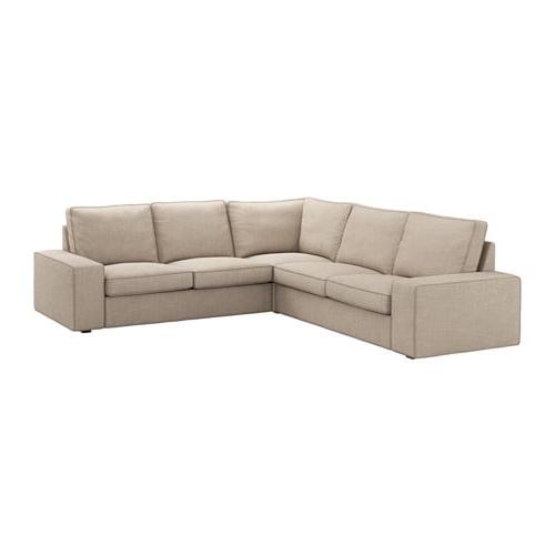 Sofa Cuatro Plazas Thdr Kivik sofà 4 Plazas Esquina Hillared Beige Ikea