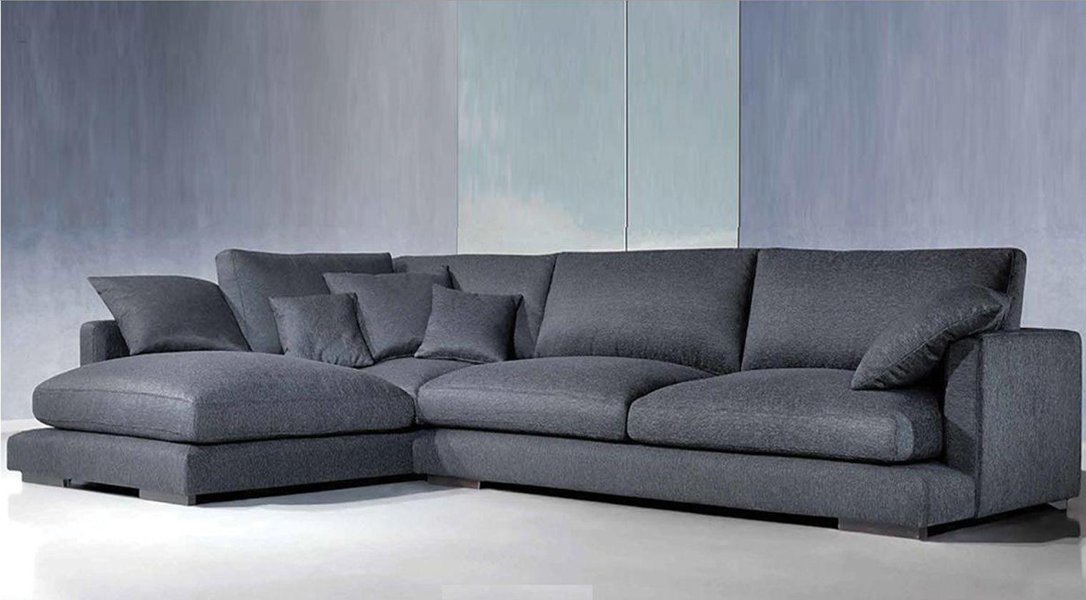 Sofa Cuatro Plazas Tldn Chaise Longue Tela Perseo Aise Longue Tela