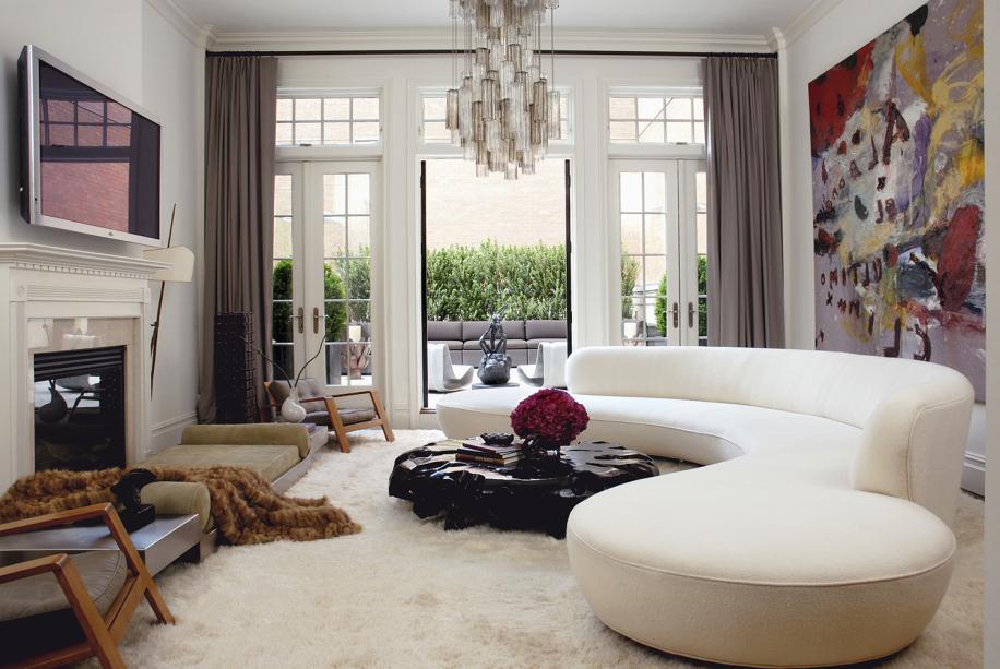 Sofa Curvo Mndw Tendência 15 Ambientes sofà Curvo Casa Claudia