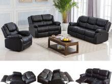 Sofa De Dos Plazas Y7du sofà De Dos Plazas Reclinable De Movimiento Negro Salà N Muebles De